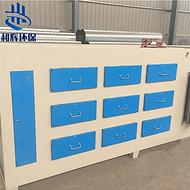 供应塑料厂活性炭环保箱 活性炭吸附箱 活性炭吸附装置