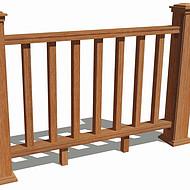 仿木栏杆护栏围栏栅栏福建塑木木塑厂家包安装