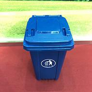 户外塑料环卫分类垃圾桶100L