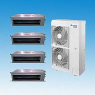 北京格力中央空调家用HDC系列静音型风管机室内机