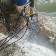 岩石开采破碎分裂器郑州铁矿开采用小型分裂机