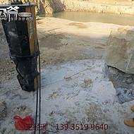 钢制岩石劈裂机泸州煤矿巷道扩宽岩石分裂机