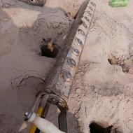 洞采矿岩石破碎机中山开槽开渠岩石撑裂机