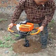 大功率植保挖坑机 园林果树挖坑机 手提式汽油挖坑机