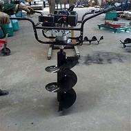 大功率植树钻坑机 小拖拉机植树挖坑机