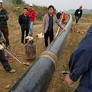 燃气钢管穿墙保护管-圆管式穿墙管道防腐聚乙烯热缩套
