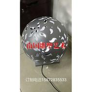 不锈钢镂空球灯户外照明球灯球型雕塑镂空雕塑球灯公园街道照明
