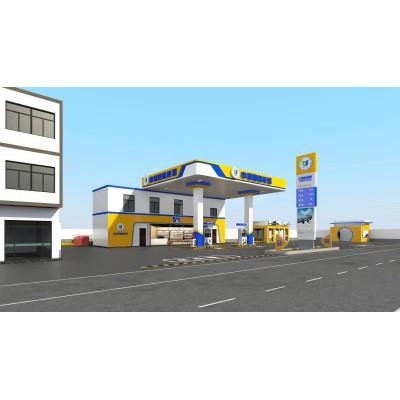 广京欧佰专业生产中石油加站专用的S型防风式铝条扣天花制造商
