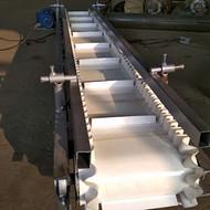 牡丹江升降输送上料机 加厚防滑式木块装卸车运输机