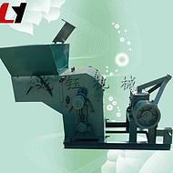 新品锤片式粉碎机刀片 多功能大型自动进料秸秆粉碎机