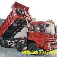 东风轻皮前四后八自卸车2019款国五自重11吨轻量化自卸车