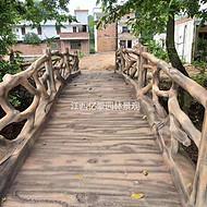 江西水泥仿木桥梁批发,九江河道仿石桥梁定制,宜春景观水泥小桥施工