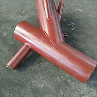 宁夏内衬陶瓷耐磨三通生产厂家