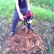 汽油旋坑打窝机 果林苗圃植树挖坑机 可定做挖坑机