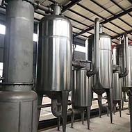出售二手3效2吨浓缩蒸发器 316材质