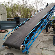 砂子皮带输送机 可调速皮带输送机 高耐磨长距离皮带机