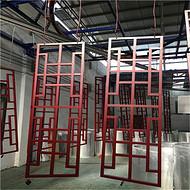 亳州仿木纹铝窗花订做  型材铝窗花规格齐全供应商
