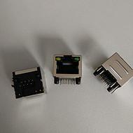 高清网络插座摄像机/带灯黄绿显色网口/长H16.25-纬力连接器