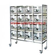 全不锈钢 大鼠笼架 动物饲养架 ZK-GXG 智科仪器