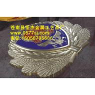 1米消防徽制作,消防徽订做,消防徽生产厂家苍南圣杰金属工艺品