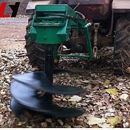 家用拖拉机挖坑机报价 果树植树挖坑机原理