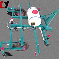高产量甘蔗盖膜机 龙钰机械农用盖膜机