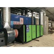 除臭环保设备厂家定做光氧催化废气净化处理成套设备