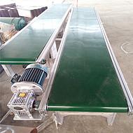 食品带分拣用带式输送机 铝合金带式上料机