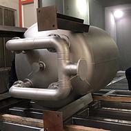 不锈钢缓冲罐304不锈钢缓冲罐316L不锈钢反应釜不锈钢反应容器缓冲罐定做