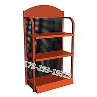 厂家订制电焊机货架机电展示架款式