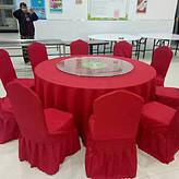 一桌十椅圆餐桌租赁餐椅租赁