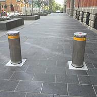 广东佛山液压升降柱厂家,304不锈钢材质埋地升降路桩,七彩云南全自动同步升降柱