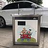 不锈钢恒温出水卡通图案节能幼儿园饮水机