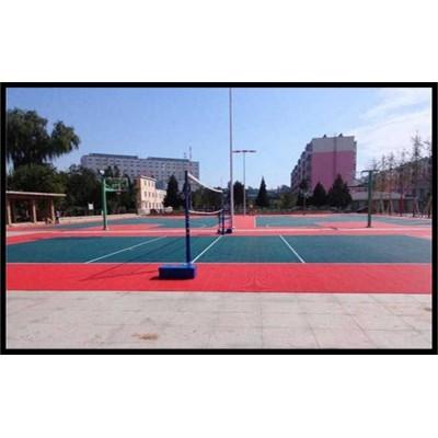 河南漯河篮球场拼装地板介绍