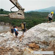 上海南汇机载劈裂大型破石机视频