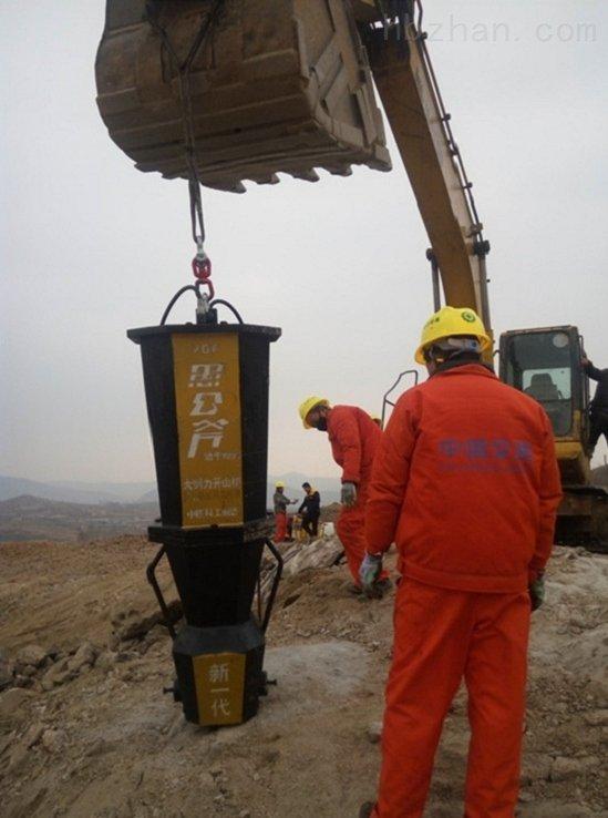 坑基破石劈裂器/資陽劈石器地基岩石破裂液壓劈裂機