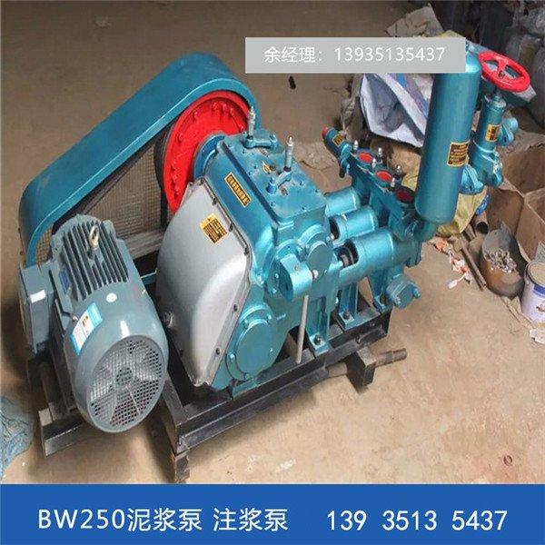 堤坝灌浆BW160泥浆泵