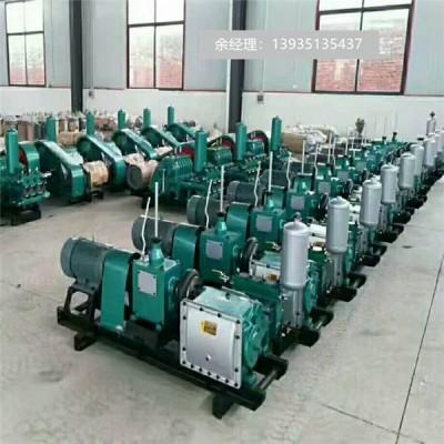 山东济宁BW450泥浆泵三缸卧式泥浆泵