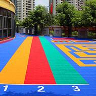 甘肃武威:双层悬浮拼装地板施工费多少