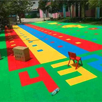 新闻:米易县彩色组装地板-国际篮联认证