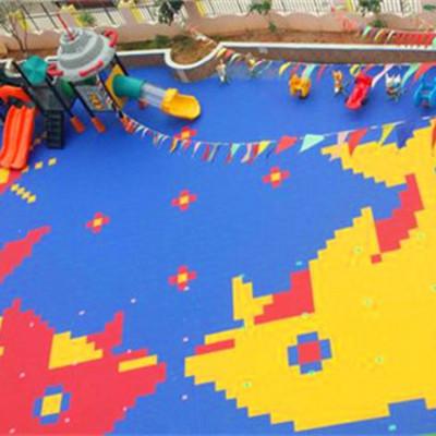 新闻:沧源县学校操场悬浮拼装式地板-免费选择拿样