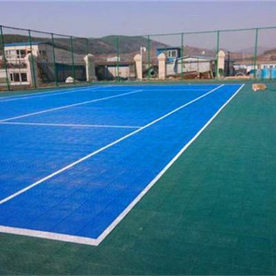 AA准格尔旗公园弹垫篮球场塑胶地板铺设:漯河召陵