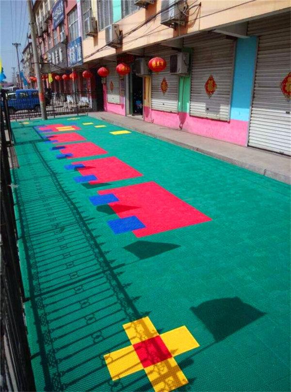 新闻:广宁县羽毛球场悬浮地板-产品防滑