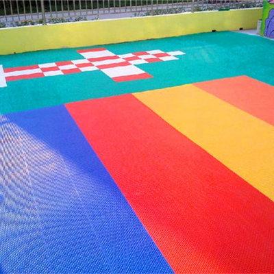 AA虞城县户外组合拼装地板铺设:青海果洛