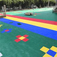 宜春市:「新闻」运动悬浮地板&安装流程