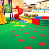 景县网球场组合拼装地板施工视频