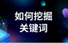 SEO优化站内优化●如何挖掘关键词 (24播放)