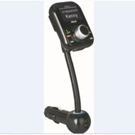 显示来电姓名号码支持手机电话本同步下载FM车载发射器
