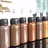 纹绣色料厂家 韩式德国进口纹绣色乳 纯植物公斤装色料批发