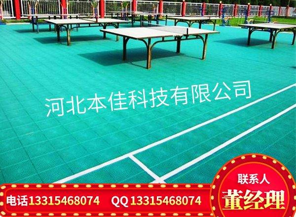 远安县操场悬浮式拼装地板每方价格-晋州创和